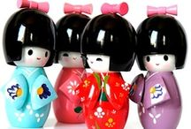 ♥ Kokeshi Dolls ♥ / by Cathy Nickols