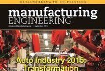Advanced Manufacturing / Manufacturing Engineering is the premier source for news and technical info about manufacturing. From metalworking to 3D printing, we know how to make it. www.AdvancedManufacturing.org.