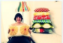 retro pillows cushions fabrics