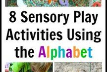 Sensory Play / Sensory Play Ideas and Activities for you to do at home with your child