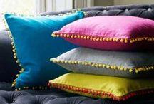 pompon pillow