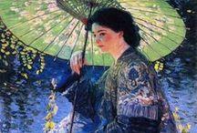 Regenschirme und Sonnenschirme
