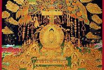 Thangkas / Thangkas und Mandalas. Buddhistische Religionskunst.
