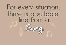 Music & Lyrics / Music lyrics for life