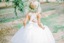 Flower Girl Dresses / DC Planner | Flower Girl Dress Ideas & Inspiration from Simply Breathe Events