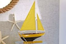sailboat / decor