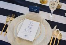 Navy Blue Wedding / DC Planner | Navy Blue Wedding Ideas & Inspiration from Simply Breathe Events