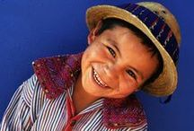 Jungen aus Mittel- und Südamerika