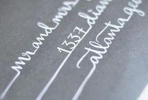 Kalligrafi och Brev