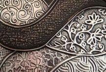Pewter & Copper Repousse / Pewter & Copper Repousse