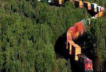 Trains - Züge - Treni