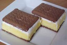 Recepty - NEPEČENÉ dezerty sladké / různé druhy moučníku - recepty