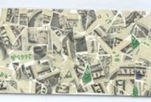 MONEY / Collages made from Money