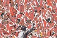 DeKooning Collages / Collages inspired by the artist Willem DeKooning