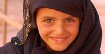 Mädchen auf der Arabische Halbinsel