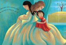Books for Children / A shelf of wonderful books for children centered around adoption