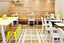 Restaurant, Cafe, Shops
