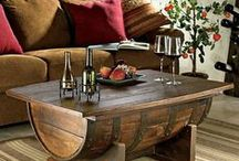 Deco / Wine all over the house = beautiful design possibilities!