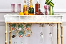 Bar carts / Bar carts, Liquor cabinets, etc. / by Ülkü Kural