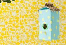 carton bird feeder