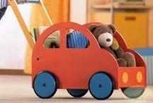 Brinquedos e Material Pedagógico de Madeira