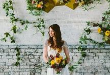 Styled Shoot: Modern DC Lush Spring Shoot / DC Planner | Modern Lush Shoot Ideas & Inspiration from Simple