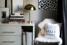 Interior Design Project: Veronica's Chic and Modern Office / DC Planner | Interior Design Ideas & Inspiration from Simply Breathe Events