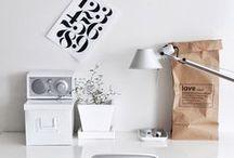 home office / home office ideas, minimalist office, Scandinavian office, Scandi design