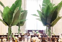 Tropical Glam Wedding / DC Planner | Tropical Glam Wedding Ideas & Inspiration from Simply Breathe Events