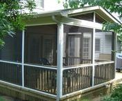 veranda, porch, ganek