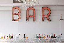 Custom Bar Ideas / DC Planner | Custom Bar Inspiration & Ideas from Simply Breathe Events