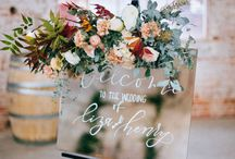 Welcome Wedding Boards / DC Planner | Welcome Wedding Boards Inspiration & Ideas from Simply Breathe Events