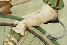 bicycling / by Christine Barton