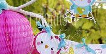 Kit Lechuzas de Colores Imprimible / Printable Owl´s Party