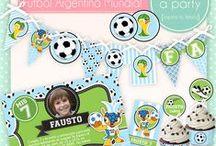 Soccer party / Fiesta de futbol