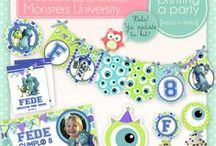 Monsters University Party / Fiesta Monsters University