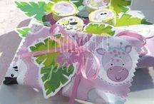 Kit Jungla Nenas Imprimible / Printable Girl´s Jungle Party / Una fiesta con muchos animalitos de la selva para nenas. Textos editables para que vos misma lo completes con los datos de tu nena.