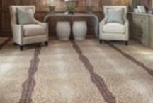 Fabulous Floors: Carpet / Choose carpeting that is appealing to the eyes and feels soft on the feet!
