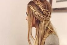 HairStyles. / Some ideas for you, very easy and for any ocation