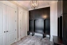 Mudrooms / A cozy, beautiful & functional space to drop your things and hang your coat!