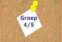 Groep 4/5 / Schooljaar 13/14, de activiteiten in beeld