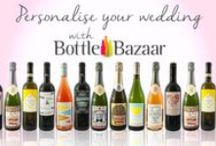 Wedding Wines / Personalised Wedding Wine Labels www.bottlebazaar.co.uk