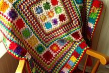 Crochet, Afghans and accessories