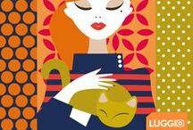 Daphne / Conheça o jeito divertido de proteger as suas malas com as capas para malas Luggio