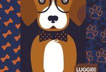 Toby / Conheça o jeito divertido de proteger as suas malas com as capas para malas Luggio