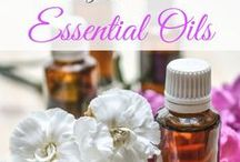 Essential Oils / Natural Remedies / A collection of articles on how to use essential oils for common ailments and other natural remedies.
