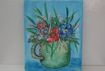 ART - Flowers , Land and Water / contact if interested in buying