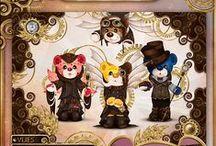 Rainbow Bears : Steampunk Edition / Steampunk