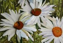 Watercolours / Watercolour Painting by Irish Artist Olive Stack