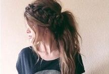 ↠ HAIR / hairstyles and inspiration.